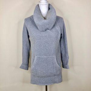 Michael Michael Kors Cowl Neck Grey Knit Sweater